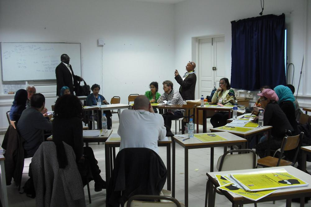 Workshops on reparations 27/03/2013